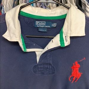 Men's Ralph LaurenXL big pony rugby polo
